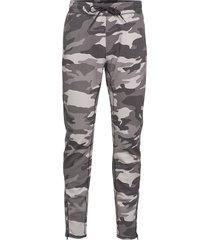 neoprene jogger sweatpants mjukisbyxor multi/mönstrad hollister