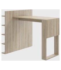 mesa c/ painel multiuso aveiro/aveiro be mobiliário bege