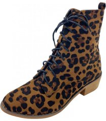 botin animal print mermaid