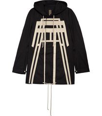 men's rick owens drkshdw pyramid fishtail parka