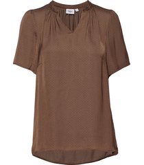 billesz blouse blouses short-sleeved brun saint tropez