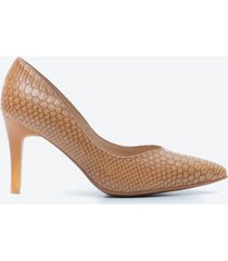 tacones casuales mujer freeport z1dd caramelo