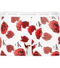 calvin klein underwear trunk boxershorts röd
