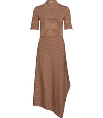 annabeliw dress jurk knielengte bruin inwear