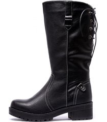 bota cindy black chancleta