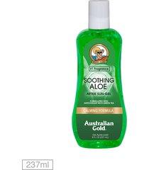 gel pós sol australian gold soothing aloe