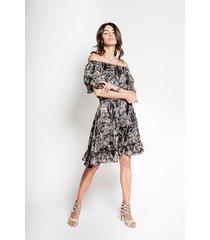 jedwabna sukienka hiszpanka