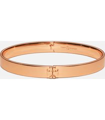 tory burch women's kira hinged bracelet - rose gold