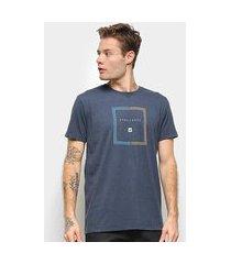 camiseta hang loose silk rasta masculina