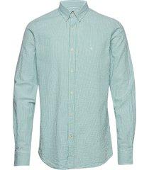 lucas button down shirt overhemd casual blauw morris