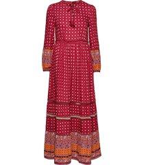 ameera maxi dress maxiklänning festklänning röd superdry