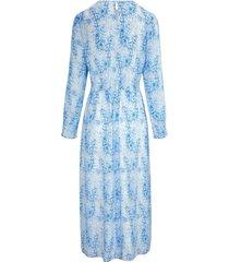 maxi-jurk met slangenprint van uta raasch multicolour