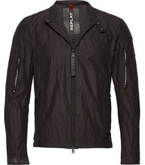 jacket dun jack zwart replay