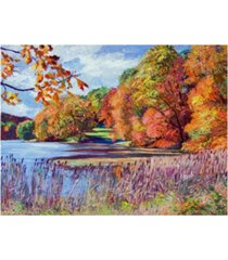 "david lloyd glover color season impressions canvas art - 37"" x 49"""