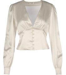 saint laurent blouse voile de coton