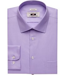 joseph abboud lavender twill modern fit dress shirt
