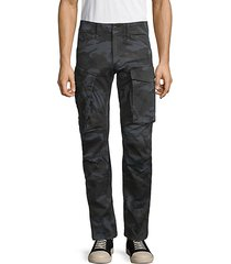 rovic 3d straight tapered camo cargo pants