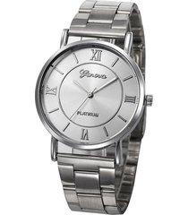 reloj plateado elegante re-37002