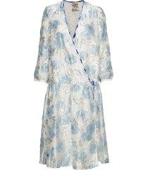 aden jurk knielengte blauw baum und pferdgarten
