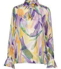 lemonkb blouse blouse lange mouwen multi/patroon karen by simonsen