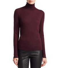 collection cashmere turtleneck sweater