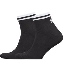 puma heritage quarter 2p underwear socks regular socks svart puma