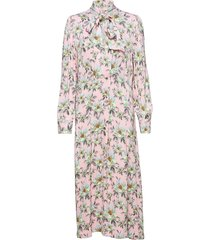 rebecca jurk knielengte roze custommade
