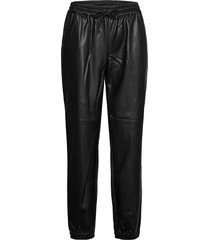 natalie leather leggings/broek zwart sofie schnoor