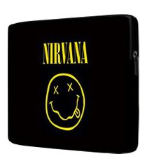 capa para notebook nirvana 15.6 à 17 polegadas