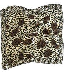 pañuelo marrón nuevas historias ba1148