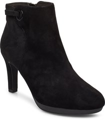 adriel mae shoes boots ankle boots ankle boot - heel svart clarks