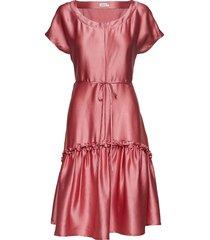 marilyn dress knälång klänning rosa residus