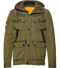 icon military service jacket parka jacka grön superdry