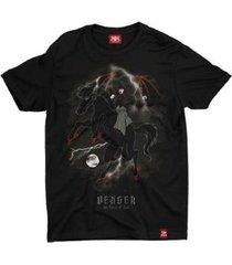 camiseta animes vingador caverna do dragão - unissex