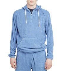 universal works blue beach hoodie