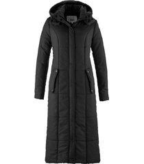 cappotto lungo trapuntato (nero) - bpc bonprix collection