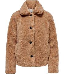 fuskpäls onlemily teddy jacket