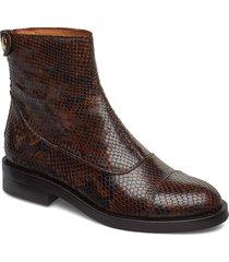 boots 3542 shoes boots ankle boots ankle boots flat heel brun billi bi