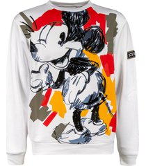 iceberg mickey mouse painted sweatshirt