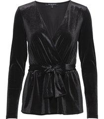 talula02 blouse lange mouwen zwart ilse jacobsen
