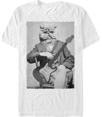 fifth sun men's cat levine short sleeve crew t-shirt