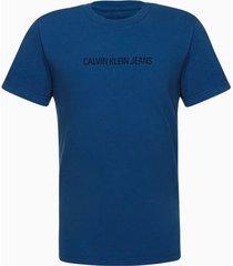 camiseta mc reat basica calvin peito - azul médio - 8
