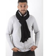 bufanda negra spiga 31
