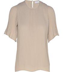 miami tee-shirt blouses short-sleeved beige cathrine hammel