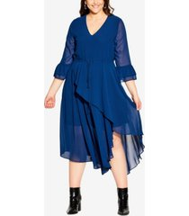 city chic plus trendy hidden treasure maxi dress
