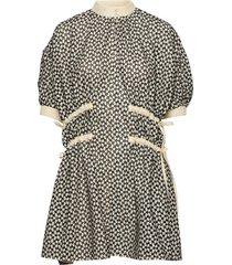 gitte broderie anglaise jurk knielengte multi/patroon fall winter spring summer