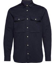 longsleeve clean utility shirt overhemd casual blauw scotch & soda