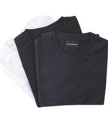 emporio armani tripack regular t-shirt