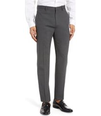 men's theory mayer new tailor 2 wool dress pants, size 40 - grey
