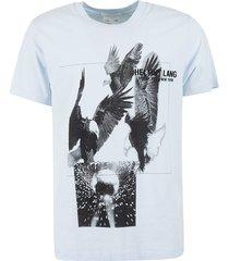 helmut lang eagle print standard t-shirt